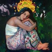 """Musa Cemí / Oil on Canvas / 24"""" x 24"""""""
