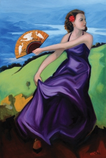 """Las Garzas / Oil on Canvas / 36"""" x 24"""""""