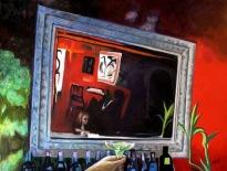 """Marco de Reflexión / Oil on Canvas / 30"""" x 40"""""""