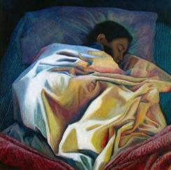 """Sueño de Amanecer / Oil on Canvas / 18"""" x 18"""""""