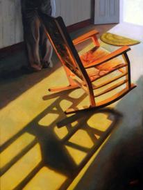 "Ausencia / Oil on Canvas / 40"" x 30"""