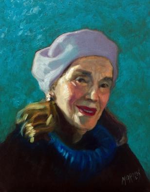Portrait of Poet Juana Rosa Pita