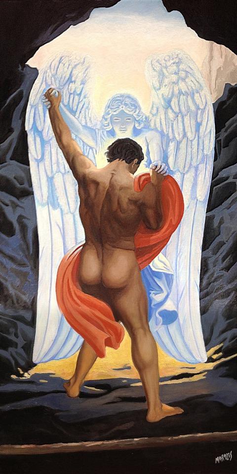 jacob and the angel jacobo y el angel